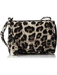 Guess Hwlp6421780, Borsa a Mano Donna, Multicolore (Leopard), 13x22.5x36 cm (W x H x L)