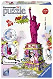 Ravensburger 3D-Puzzle 12597 - Pop Art Edition, Freiheitsstatue, bunt