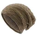 Berretti in Maglia - UPhitnis Berretto Invernale Uomo Donna con Lana - Beanie Hat Elastico Morbido di Modello Tessitura