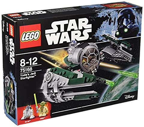 LEGO - 75168 - Star Wars - Jeu de Construction - Yoda's Jedi Starfighter