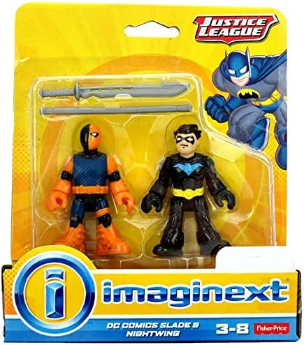 Imaginext, Justice League Exclusive Figures, DC Comics Slade & Nightwing, by Imaginext | La Mode