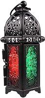 Vintage Moroccan Decor Lanterns Hollow Candlestick Candle Holder Windproof Lantern Candle Holders For Wedding Home...