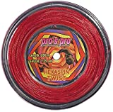Tennissaite Hexaspin Twist 1.25mm mit Spin 200m rot