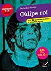 Sophocle/Pasolini, OEdipe roi - Avec 20 questions traitées et un cahier photos (programme de littérature Tle L bac 2016-2017)