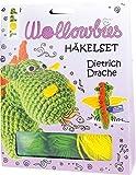 Fabelhafte Wollowbies Häkelset Dietrich Drache, VE=4 Ex.: Anleitung, Steckbrief und Material für einen süßen Drachen