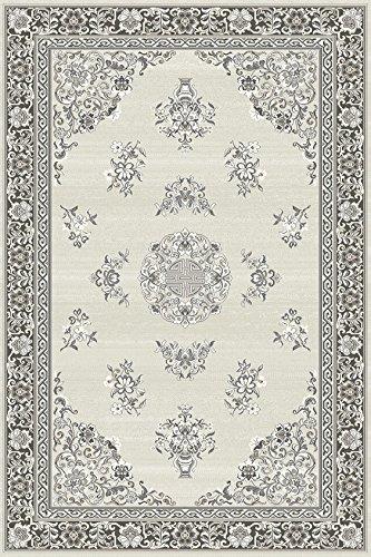 Erdenet Teppich Klassisch, 170 x 250 cm, Naturfarbe, Schurwolle ohne Farbstoff !!! Kollektion Natural Color. - Teppich Farbstoff