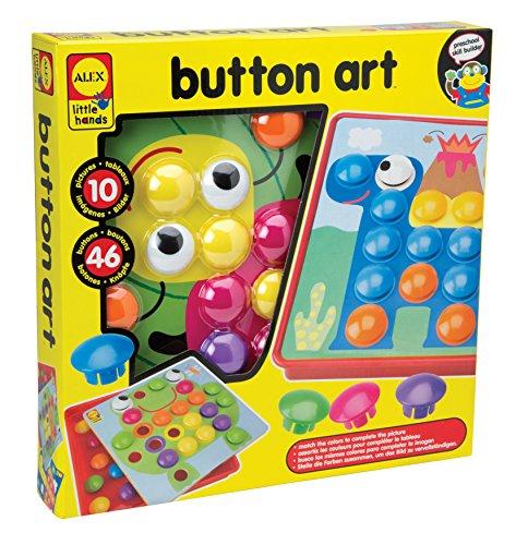 Alex Toys - Puzzle infantil Arte con botones...