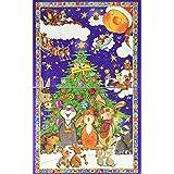 Goldmännchen Adventskalender mit 24 hochwertigen Teesorten für himmlischen Teegenuss, 1er Pack (1 x 52 g)