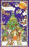 Goldmännchen Adventskalender mit 24 hochwertigen Teesorten für himmlischen Teegenuss, 1er Pack (1 x 52 g) -