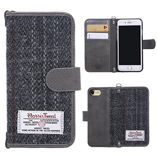 iphone-7-book-case-monojoy-iphone-7-purse-harris-tweed-and-synthetic-suede-leather-wallet-cover-with