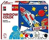 Marabu Kreativfarben Kids Window Color Set Weltall