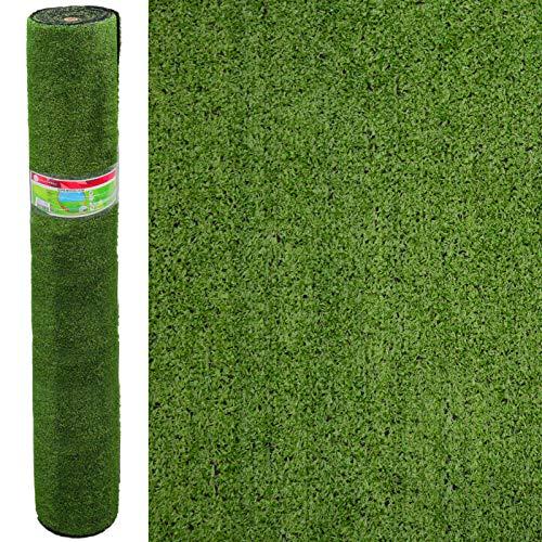 Césped Artificial económico terraza Verde plástico