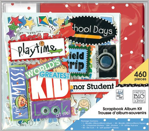 Me My Big Ideas Mixed Friends Mambi Scrapbook Kit 12 Inch By 12
