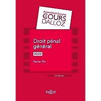 Droit pénal général 2022 - 13e ed.