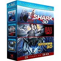 Shark + Bait + Spiders [Blu-ray 3D] [Edizione: Francia];Metropolitan Edition Haute Définition