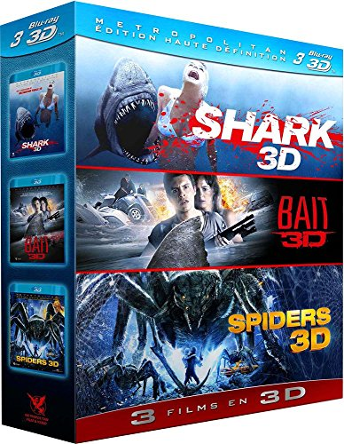 Shark + Bait + Spiders [Blu-ray 3D] (Spiders 3d Dvd)