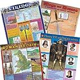 Best historia Pósteres - Juego de póster de la historia británica para Review