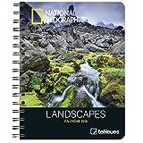 Landscapes 2018 - National Geographic Kalender, Landschaftskalender, Buchkalender National Geographic, Wochenkalender - 16,5 x 21,6 cm