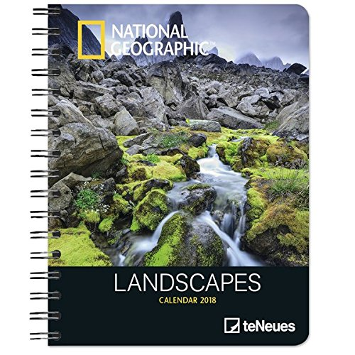 2018 National Geographic Landscapes Deluxe Diary - teNeues - 16.5 x 21.6 cm