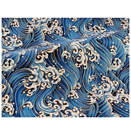 East Utopia Mehrzweckgewebe Stoff DIY Stoff für Vorhang Kleid, - Mouchoir Kostüm