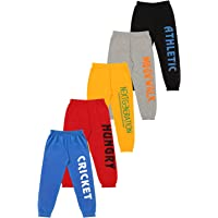 KYDA KIDS Boys' Loose Fit Trackpants (Pack of 5)