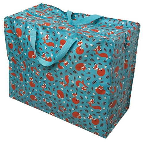 LS Design XXL Jumbo Bag Einkaufstasche Shopper Riesentasche Tasche Allzwecktasche Recycled Fuchs -