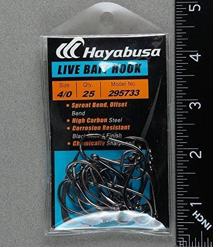 Hayabusa 295733-4/0Live Köder Haken -