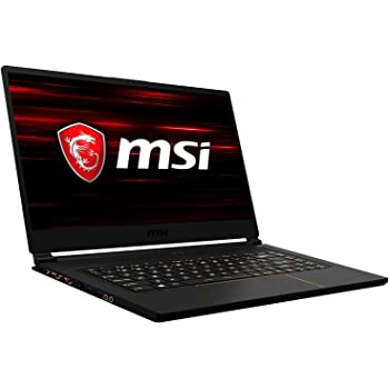 MSI GS65 8SF-057 Stealth 39,6 cm (15,6 Zoll, 144Hz) Gaming Notebook (Intel Core i7-8750H, 16GB RAM, 512GB PCIe SSD, Nvidia GeForce RTX2070 Max-Q 8GB, Windows 10)