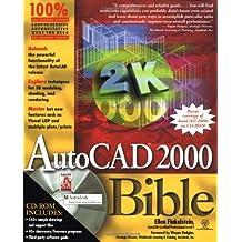 AutoCAD 2000 Bible by Ellen Finkelstein (2000-10-15)