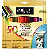 Best Sargent Art Coloring Pencils For Adults - Sargent Art Assorted Colored Pencils 50-Count Review