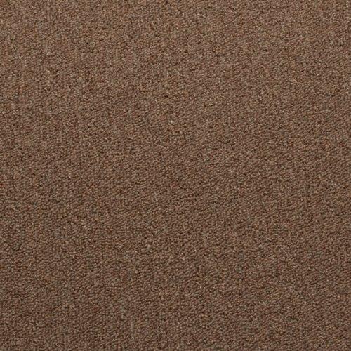 Brown Hardwearing Loop Pile Carpet - 4m Wide, 5.5m Long