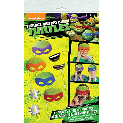 Turtles Photo Booth Props, 8pc ()