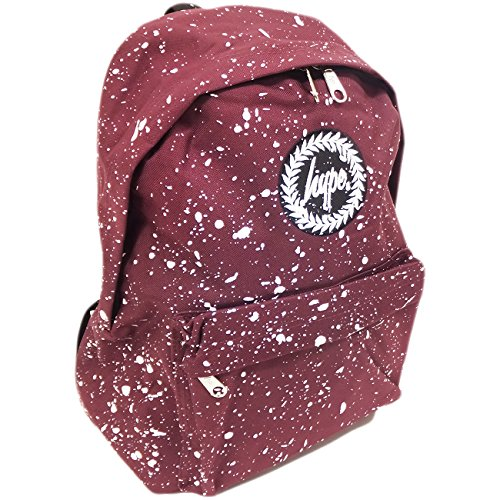 Just Hype  Hype bag (Splash), Herren Schultertasche Maroon / White