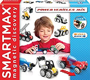 Smart Max Power Vehicles, Multicolor (Smart Games SMX303)