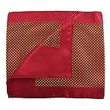 Premier Scarf – Cravatta a Dadini - Donna (Taglia unica) (Rosso/Oro)