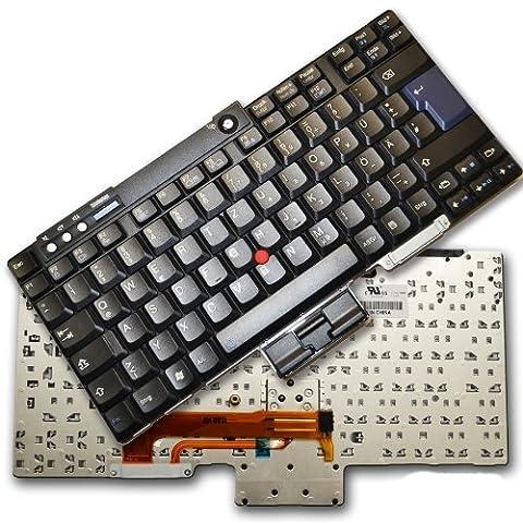 bucom-Allemande Clavier pour IBM Lenovo ThinkPad T60T61R60R61T400T500R400R500W500W700W700ds W701Z61e Z61m Z61P Z61t de clavier 42t325042t3282