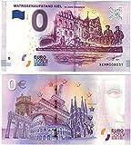 0Euro de Révolte de Kiel–Cent Ans démocratie 2018–Zéro Euro Souvenier billet de banque avec différents attractions