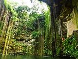 Vliestapete Ik Kil Cenote VT273 Größe:400x280cm, Fototapete, Vlies Tapete, High Quality, PREMIUM Bildtapete, Tapete Mexico Chichen Itza