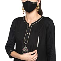 Women's Printed Cotton Straight Maternity Feeding Kurtis with Concealed Zippers for Easy and Comfortable Breastfeeding