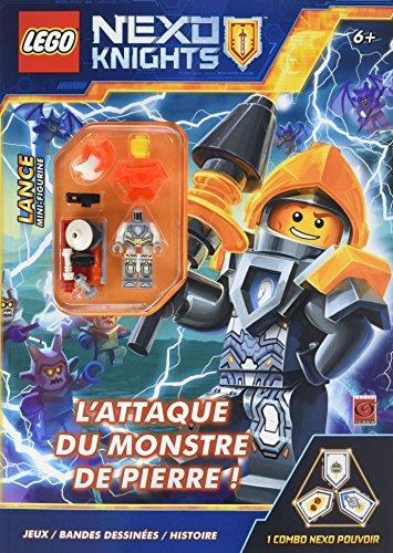 LEGO NEXO KNIGHTS L'ATTAQUE DU MONSTRE DE PIERRE