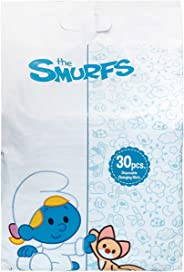 Smurfs Smurf - Polybag of 30 Disposable Changing Mats,