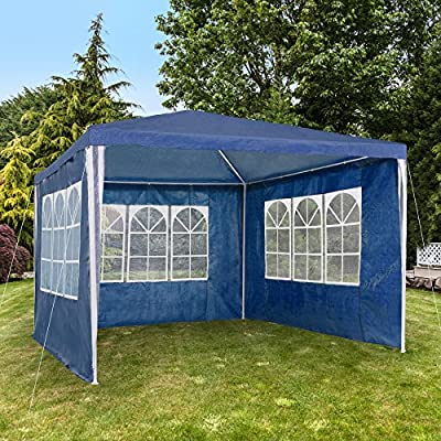 TecTake Pavillon für Garten Party Camping Festival Bier Zelt Festzelt 3x 3m von TecTake auf Gartenmöbel von Du und Dein Garten