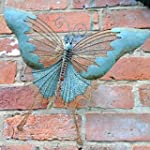 Butterfly Wall Art. Metal with a Verd...