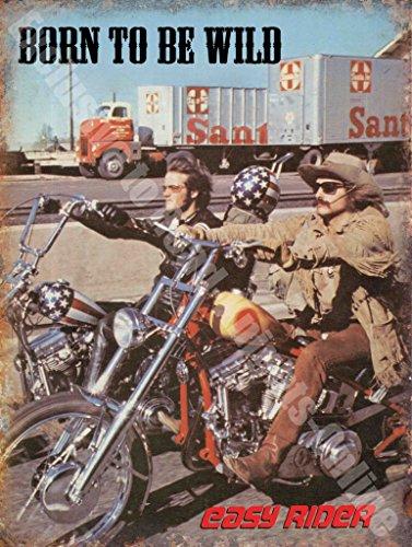 easy-rider-born-to-be-wild-de-garage-pour-moto-panneau-mural-en-metal-acier-acier-30-x-40-cm