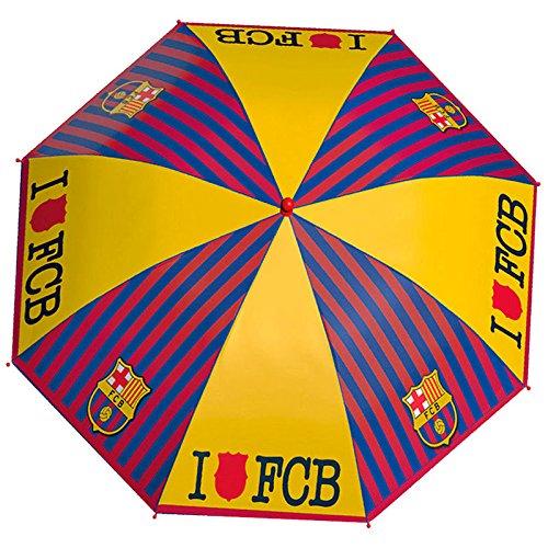 PERLETTI perletti1518342x 8cm Boy Printed FC Barcelona Seguridad Apertura Tipo Paraguas