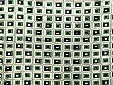 Geometrische Print Stretch Jersey Kleid Stoff, Meterware,