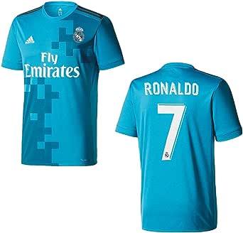 Adidas - terza maglia del Real Madrid, 2018, da uomo, con numero 7 ...