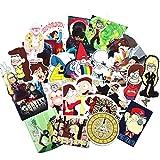 TopschnaeppchenDSH Sticker Mix ca. 22 Stück (siehe Bild, o.ä.) Gravity Falls Aufkleber/Sticker für Auto, Notebook, Laptop, Skateboard