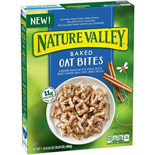 General Mills Nature Valley Baked Oat Bites Cereal, 460g