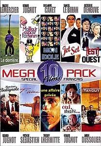 Megapack Special Noel 10 Films : Monsieur Batignole / Mon idole / Jet Set / Tanguy / Meilleur espoir féminin / Le Derrière / [Est] Ouest / Une affaire privée / Oui, mais... / T'aime - Coffret 5 DVD